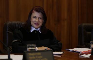 Magistrada Rocío Araújo Oñate.