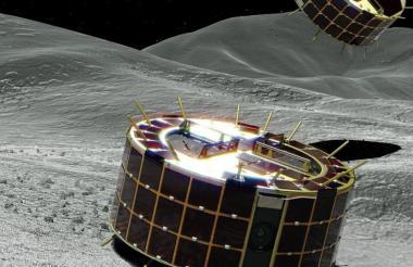 La misión japonesa busca datos sobre el origen del Sistema Solar a través del asteroide.