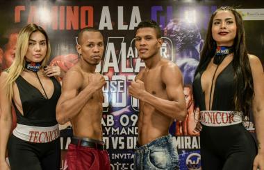 Los boxeadores cordobeses Anuar Salas y José Soto realizarán el combate estelar de Probox el sábado.