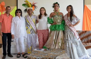 Jairo Polo, Jonathan Gamarra, María Teresa Fernández, Yiswal Escarraga y Carolina Suárez.