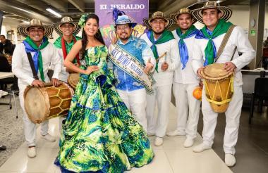 Reyes del Carnaval de Soledad 2019.