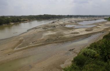 Panorama ayer en la cuenca del río Cauca en el municipio de Caucasia, Antioquia.