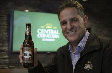 El presidente de Central Cervecera, Mauricio Medina Yepes.