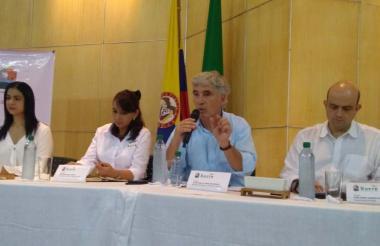El Minsalud Uribe lanzó 'Córtale las alas al dengue'
