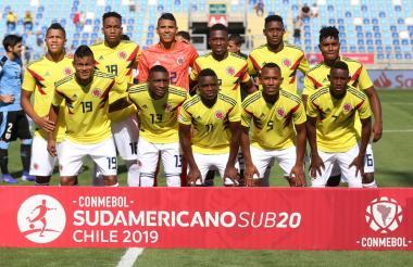 Este fue la nómina que usó la Selección Colombia en el último duelo ante la selección de Uruguay.