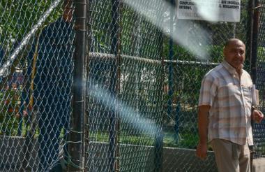 Cristian Rymel Yurgaky Rey a su salida de la cárcel Distrital El Bosque.