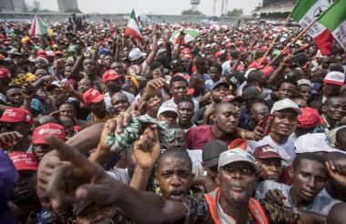 La avalancha ocurrió durante un acto de campaña del presidente de Nigeria, Muhammadu Buhari.