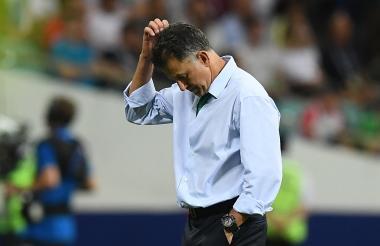 Juan Carlos Osorio siempre puso en duda su continuidad como entrenador de la selección de Paraguay.