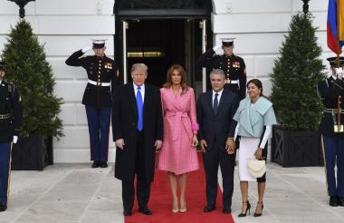 La chaqueta de la primera dama de Colombia despertó fuertes críticas.