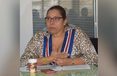 Liliana Balseiro, directora de la Unidad de Víctimas en Sucre.