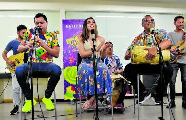 La Banda de Nayo interpretó  cuatro de sus canciones en Sesiones EH.