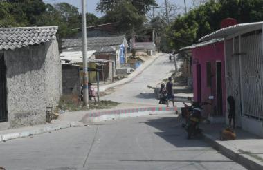 Diagonal 54 con carrera 9D, barrio El Bosque.