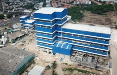Planta de Uniphos, con casa matriz en India, ubicada en Barranquilla.
