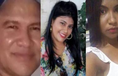 Arnaldo Sánchez, Judith Sánchez y Yosiris  Martelo