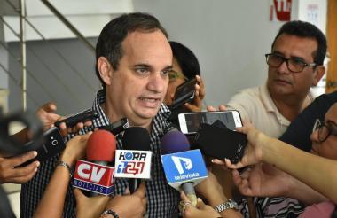 El secretario del Interior de la Gobernación, Guillermo Polo Carbonell.