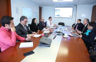 El gobernador se reunió en Bogotá con el presidente de la Agencia Nacional de Infraestructura.