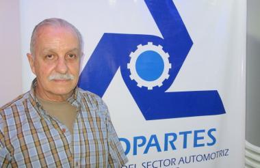 El presidente de Asopartes, Tulio Zuloaga.