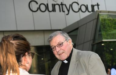 El cardenal australiano George Pell.