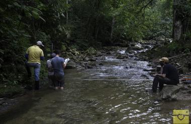 Investigadores de diferentes partes del mundo recorrieron varios ríos que nacen en la Sierra como Río Frío, Palomino y el Ranchería.