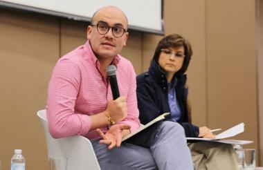 El viceministro de Infraestructura, Manuel Gutiérrez.