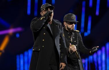 'El Duo de la Historia',  Wisin&Yandel, fueron los encargados de dar inicio a la 60º edición del Festival Viña del Mar 2019.