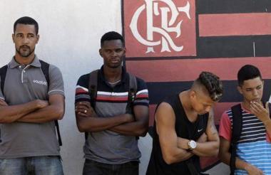 Tragedia en el complejo deportivo de Flamengo.