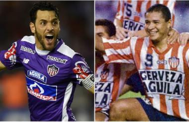 El uruguayo Sebastián Viera y el barranquillero Iván René Valenciano tienen un lugar especial en la historia del club.