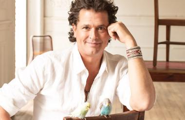 Carlos Vives, cantautor samario de 57 años.