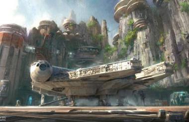 Rey, Finn, Kylo Ren y el favorito de los fans, Chewbacca, serán unos de los rostros que los visitantes verán mientras exploran este mundo de inmersión.