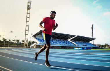 El atleta Anthony Zambrano será uno de los deportistas llamados a ganar medalla para el Atlántico.