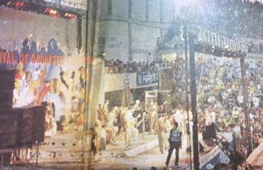 Otro de los aspectos que mayor inconformidad causó cuando esta maratón musical se desarrollaba en el Coliseo Cubierto.