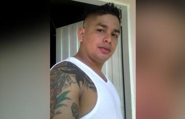 Osnaider Manuel Sarmiento Donado, presunto delincuente.