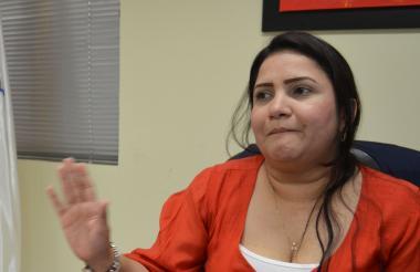 Iveth Castaño Duarte, procuradora provincial de Sincelejo.