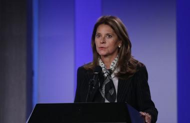 Vicepresidenta Marta Lucía Ramírez.