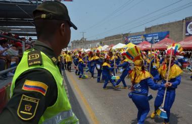 Cerca de 2 mil uniformados custodiaron las fiestas.