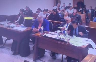 Intervención de Óscar Muñoz, defensor del fiscal Bermeo.