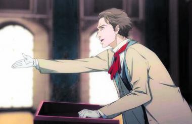 La serie muestra a un Karl Marx delgado y con apariencia de galán romántico.