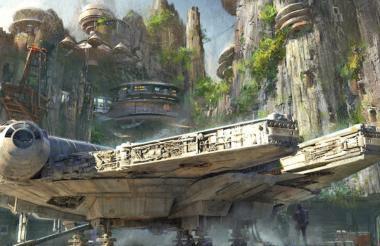 En el camino, encontrarán caras familiares como la de Rey, Finn, BB-8 y Chewie.