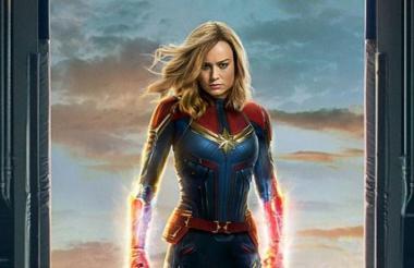 Brie Larson es la encargada de darle vida a la nueva heroína de Marvel.