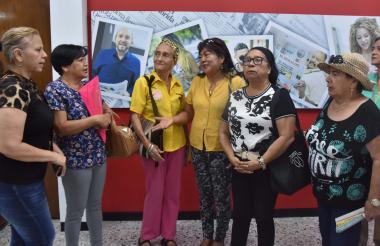 Un grupo de mujeres visitó EL HERALDO para contar la situación que, dicen, las está afectando.