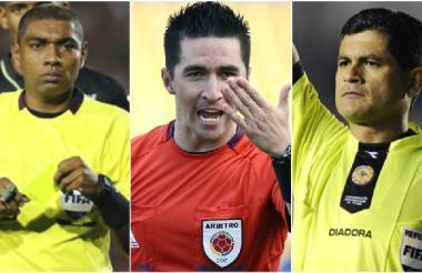 Ímer Machado, Harold Perilla y Óscar Julián Ruiz.