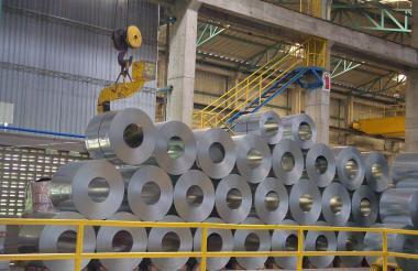 Planta de una empresa del sector acero ubicada en el departamento del Atlántico.
