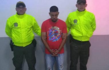Kevin Daniel Moreno Hernández, capturado.