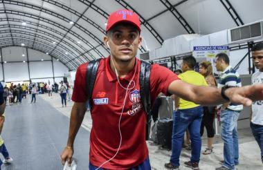 Díaz viajó ayer para unirse a la Selección Colombia.