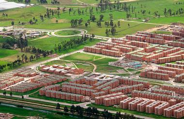 Programa Ciudad Verde en Soacha.