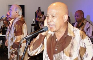 Luis Papo Rosario, intérprete de El Gran Combo de Puerto Rico.