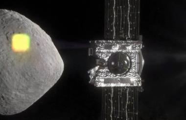 Las muestras se almacenarán en la sonda, que regresará a la Tierra en 2023.