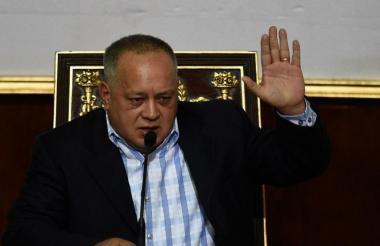 El número dos del chavismo, Diosdado Cabello.