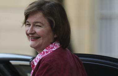 El domingo la ministra reveló en la estación de radio francesa RadioJ que todo era una broma.