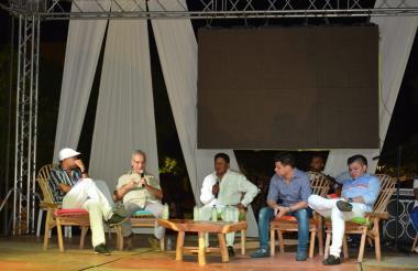 Abel Medina, Héctor Romero, Silvio Brito, Jesu Romero y Óscar Gamarra.